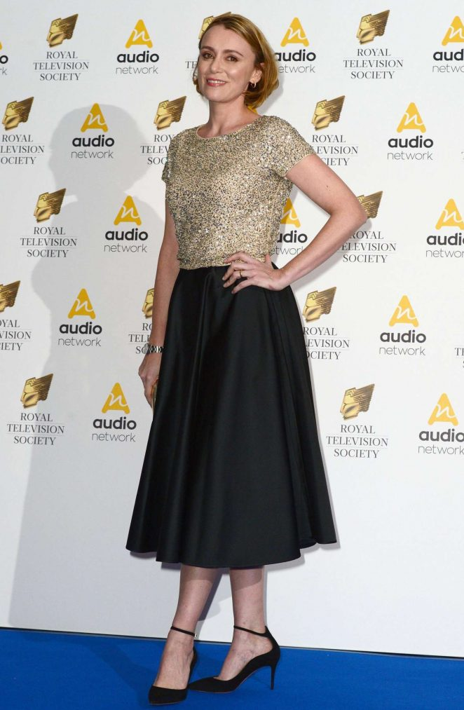 Keeley Hawes - RTS Programme Awards 2017 in London
