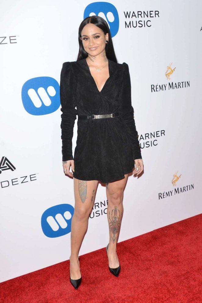 Kehlani - Warner Music Group Grammy After Party 2017 in LA