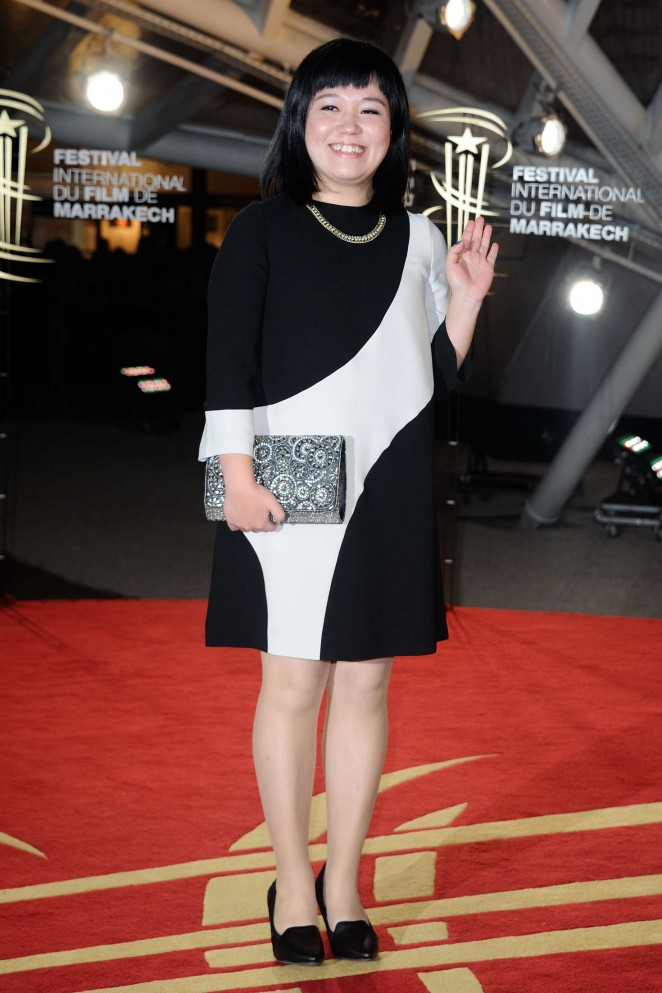 Keiko Tsuruoka  - 2015 Marrakech International Film Festival Closing Ceremony in Marrakech