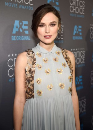 Keira Knightley - 2015 Critics Choice Movie Awards in LA