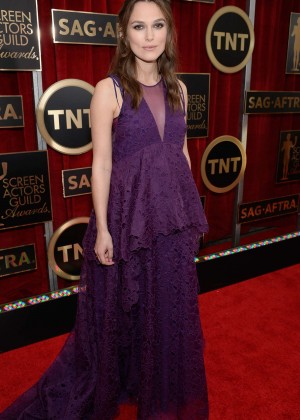 Keira Knightley - 2015 Screen Actors Guild Awards in LA
