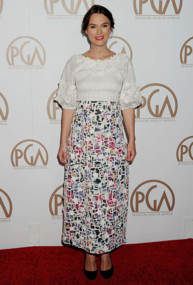 Keira Knightley - 2015 Producers Guild Of America Awards