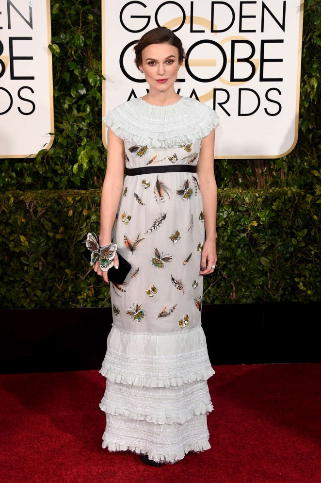 Keira Knightley – 72nd Annual Golden Globe Awards in Beverly Hills