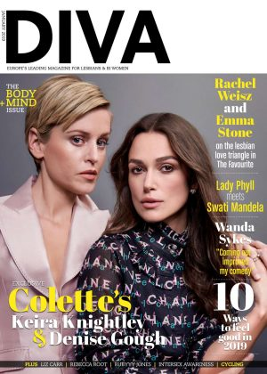 Keira Knightley and Denise Gough - Diva UK Magazine (January 2019)