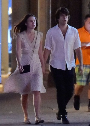 Keira Knightley and James Righton out in NYC