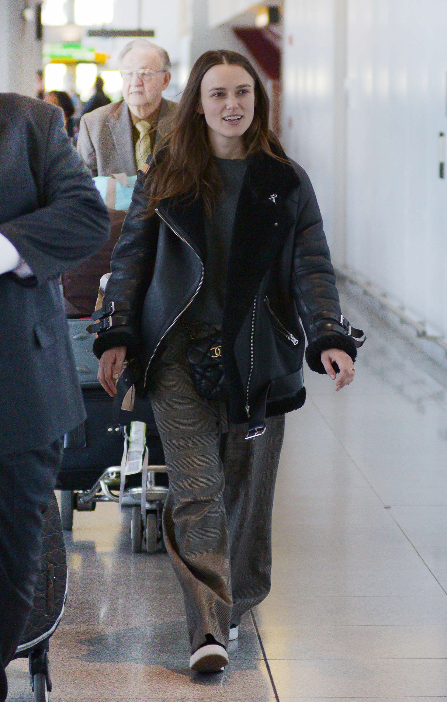 Keira Knightley 2016 : Keira Knightley: Arrives at JFK Airport -01