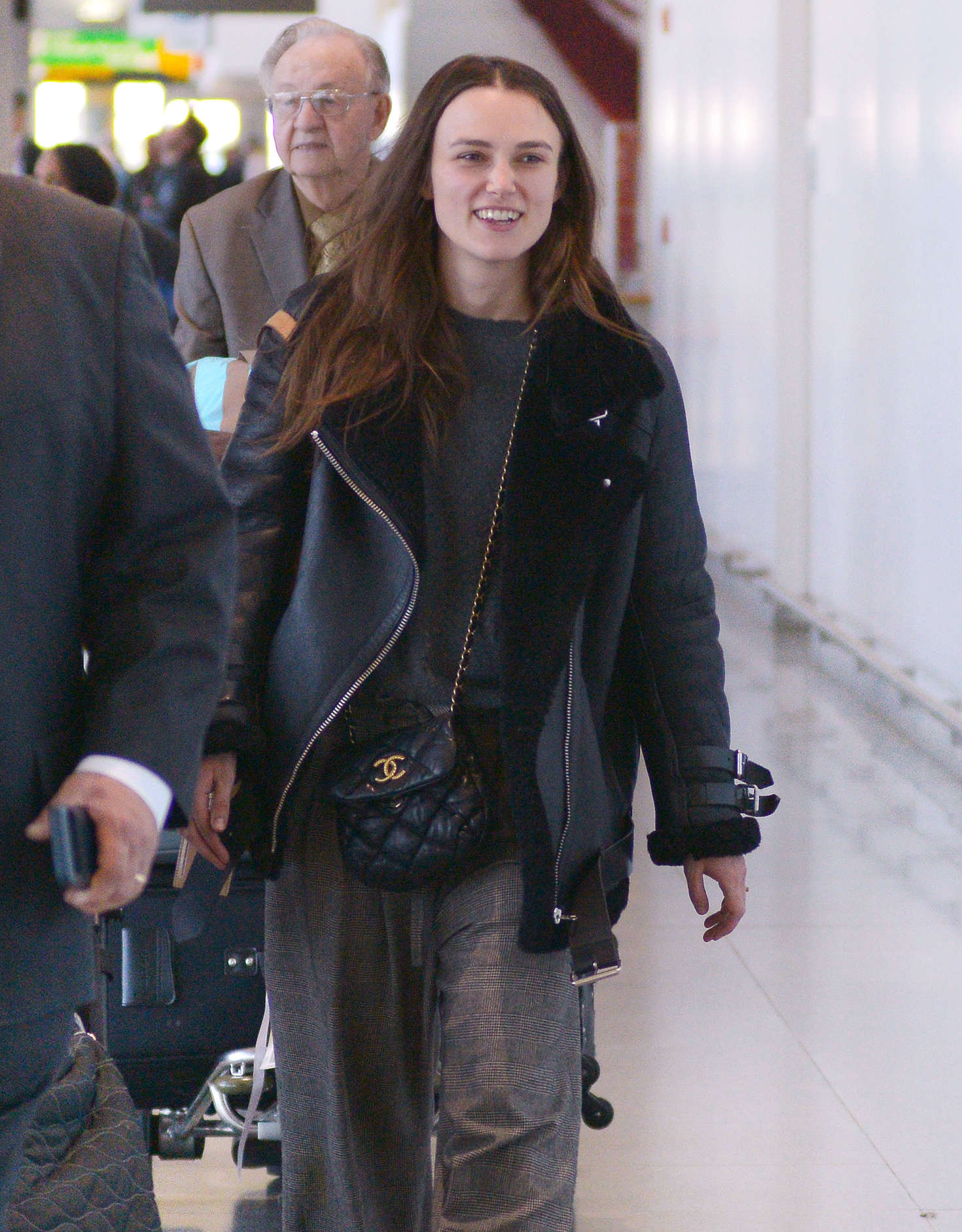 Keira Knightley 2016 : Keira Knightley: Arrives at JFK Airport -05