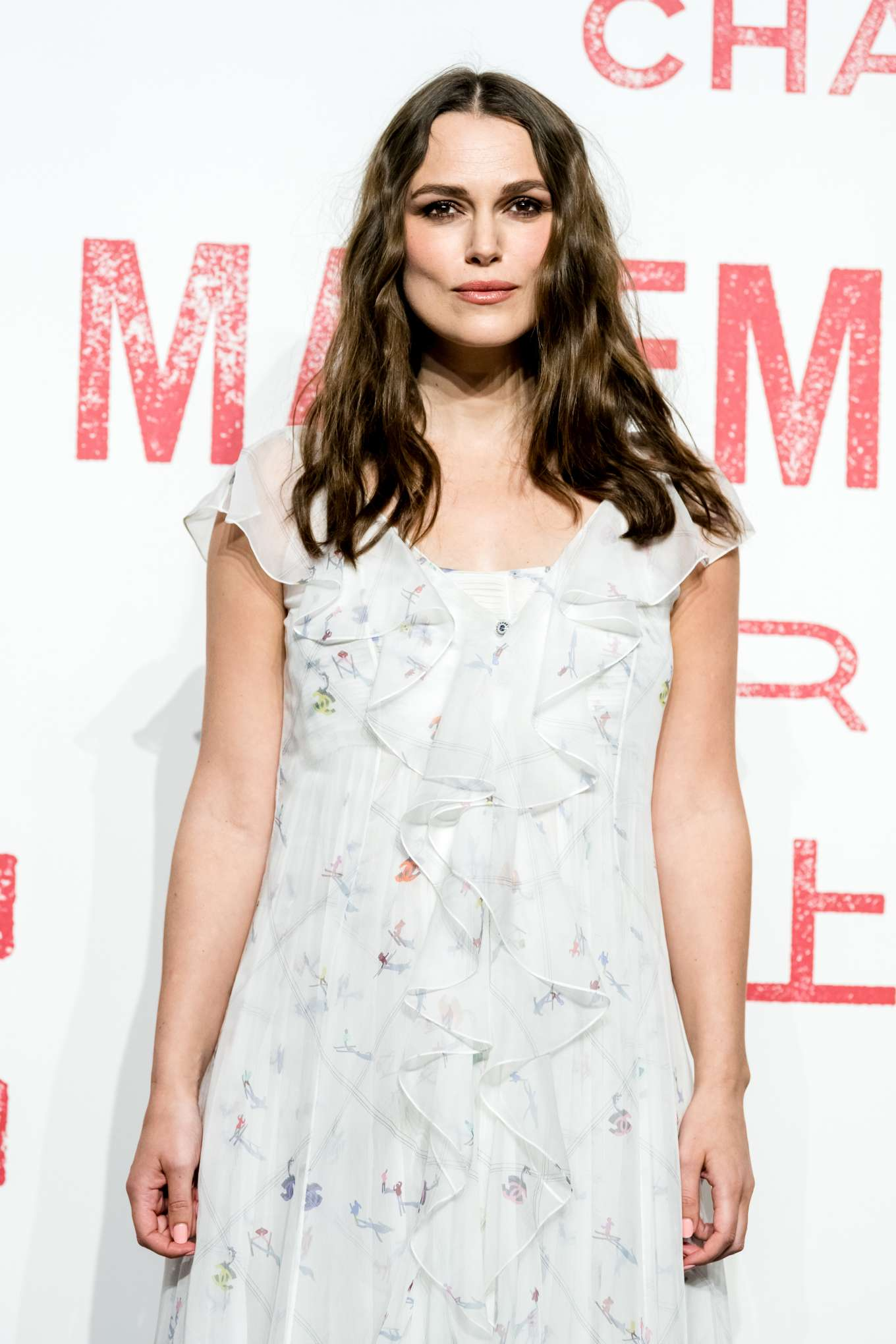 Keira Knightley - Arrives for the Chanel Mademoiselle Prive exhibition in Shanghia
