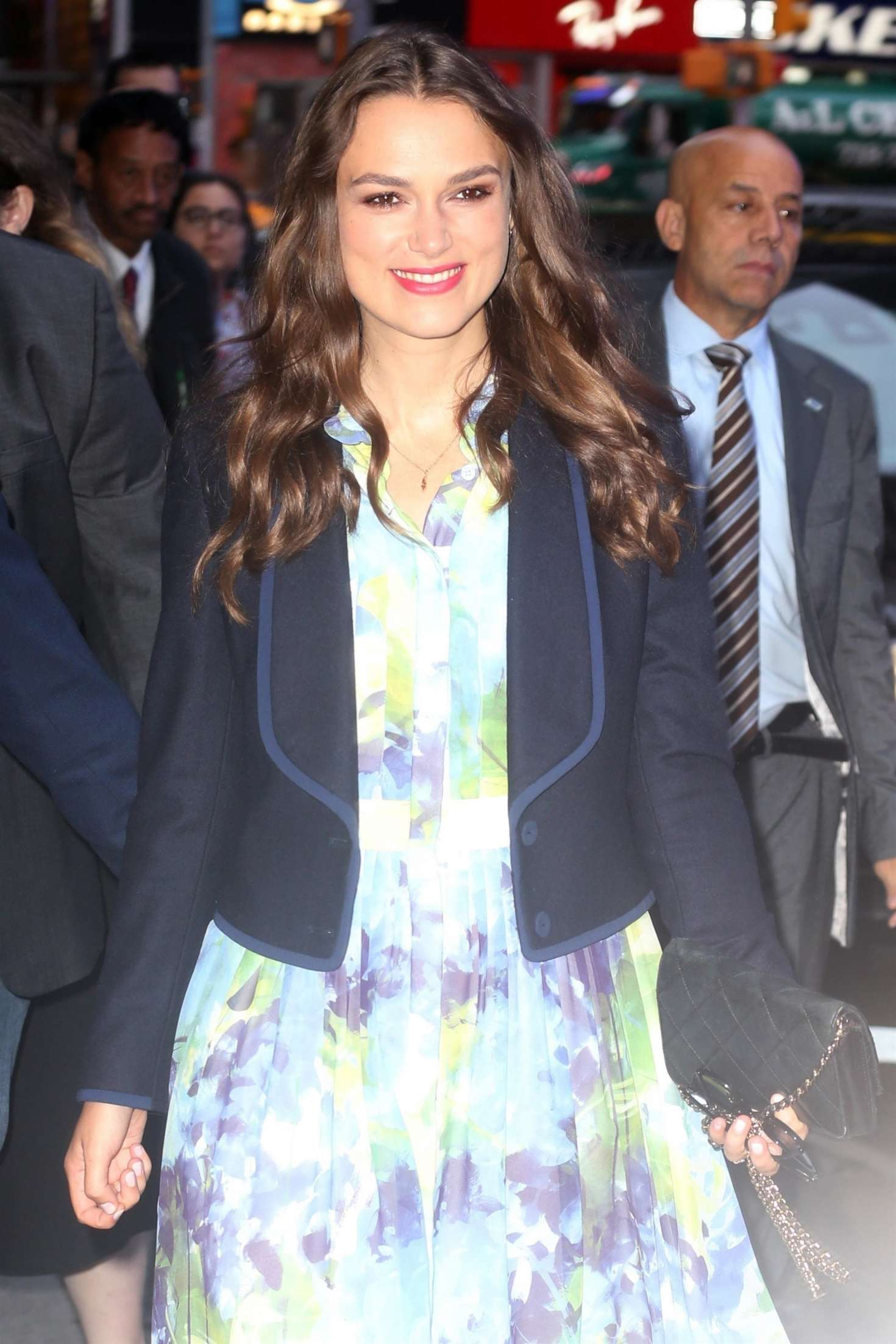 Keira Knightley - Arriving at 'Good Morning America' in New York