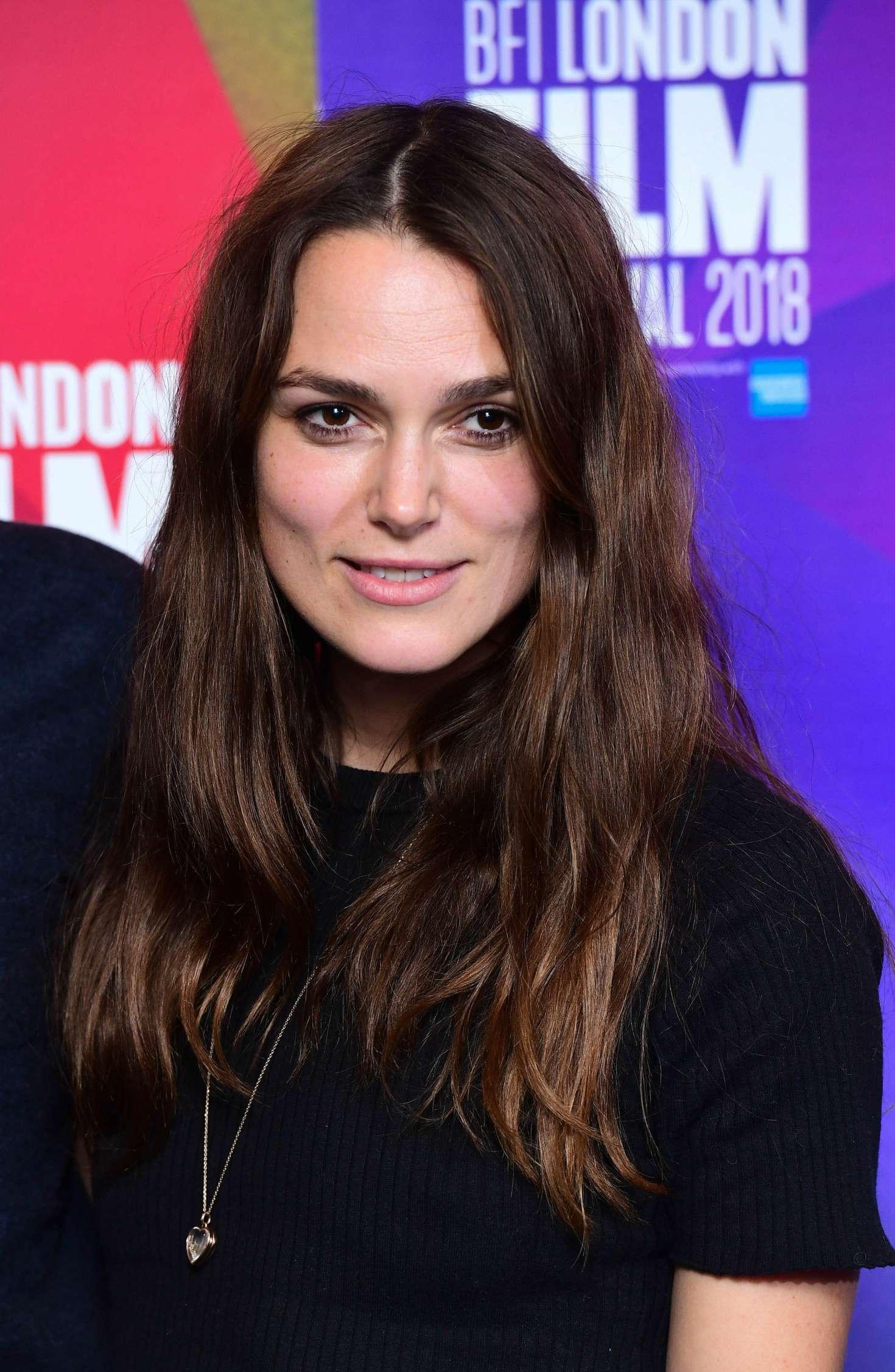 Keira Knightley - 'Benjamin' Premiere at 2018 BFI London Film Festival