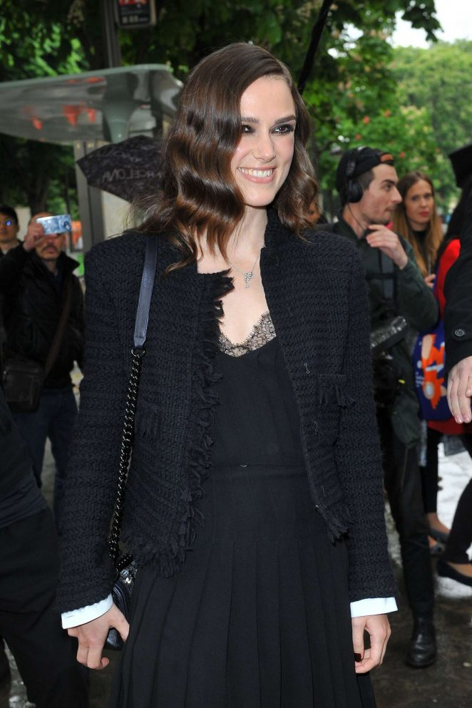 Keira Knightley - Chanel Cruise Collection in Paris