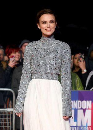 Keira Knightley - 'Colette' Premiere at 2018 BFI London Film Festival