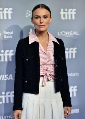 Keira Knightley - Colette Press Conference - 2018 Toronto International Film Festival