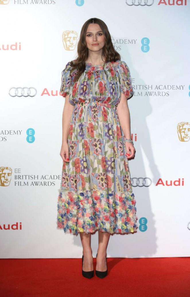 Keira Knightley - EE British Academy Awards Nominees Party 2015 in London