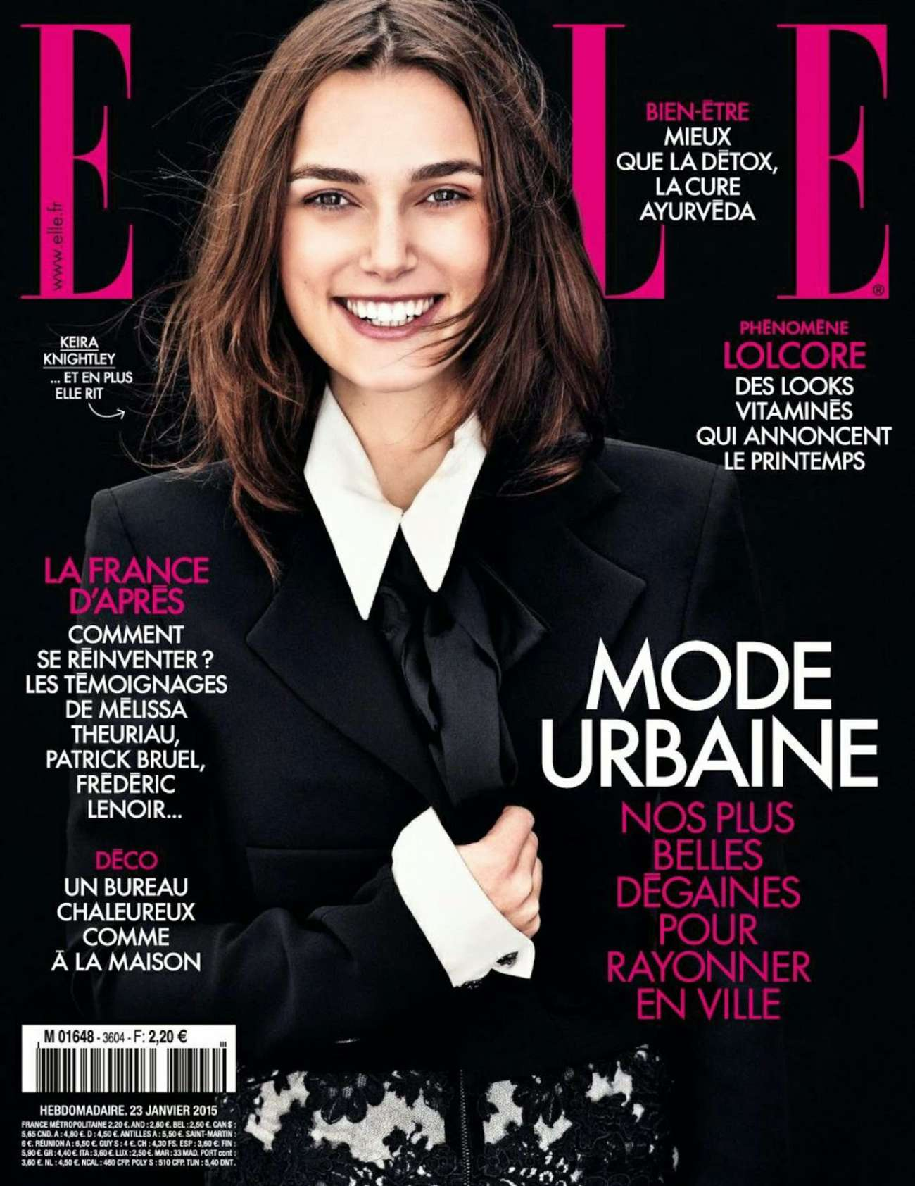 Keira Knightley: Elle France 2015 -06