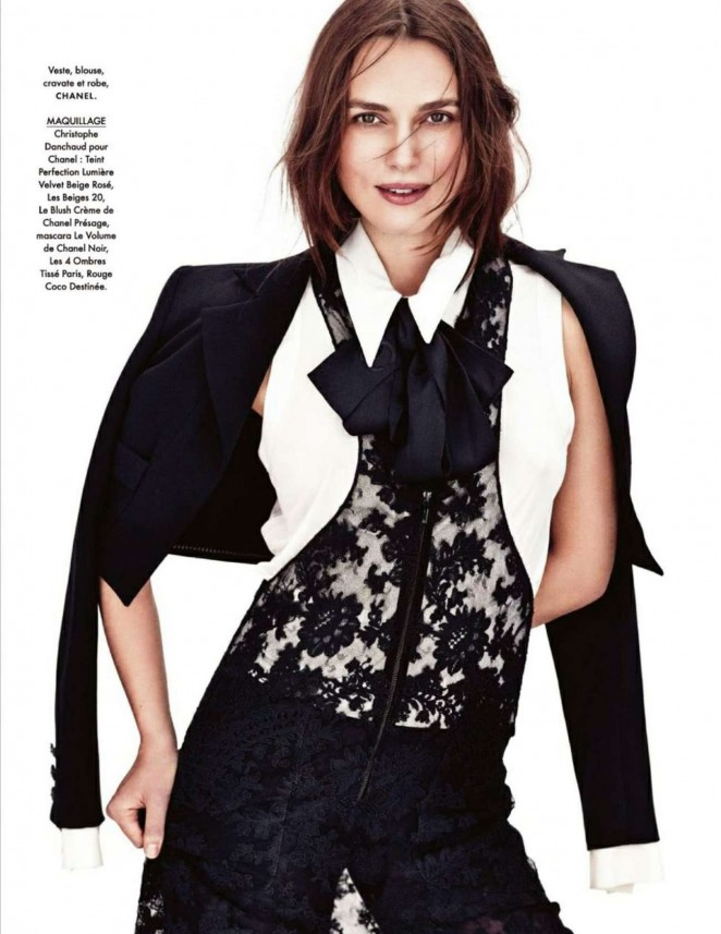 Keira Knightley – Elle France Magazine (January 2015)