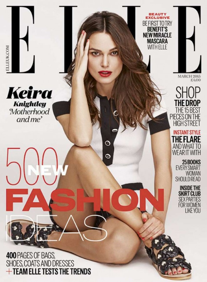 Keira Knightley - Elle Magazine (March 2015)