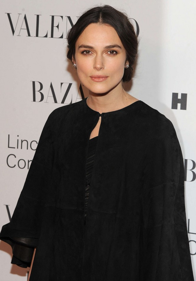Keira Knightley - Evening honoring Valentino at Lincoln Center Corporate Fund Black Tie Gala in NYC