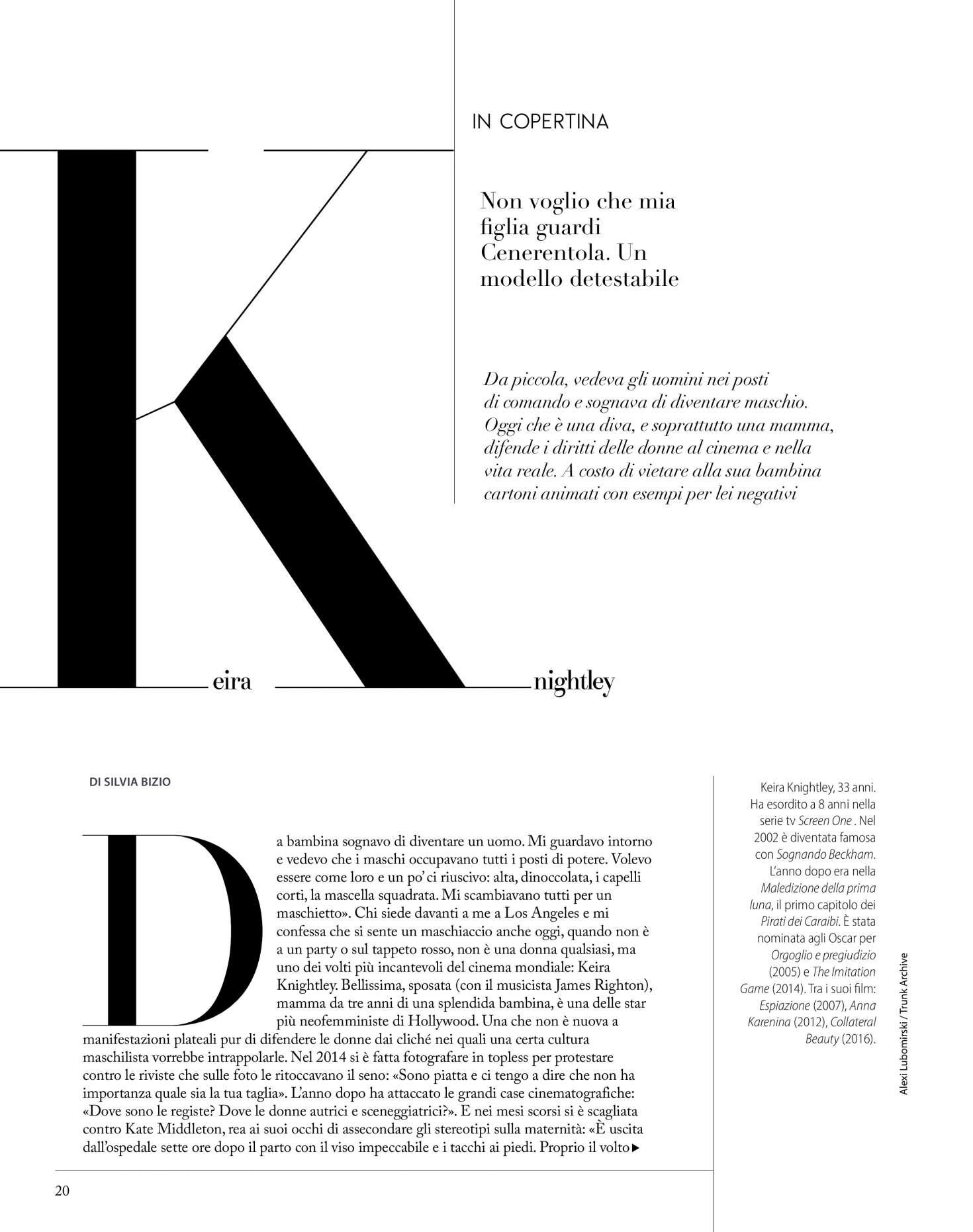 Keira Knightley 2018 : Keira Knightley: F N51 Magazine 2018 -01