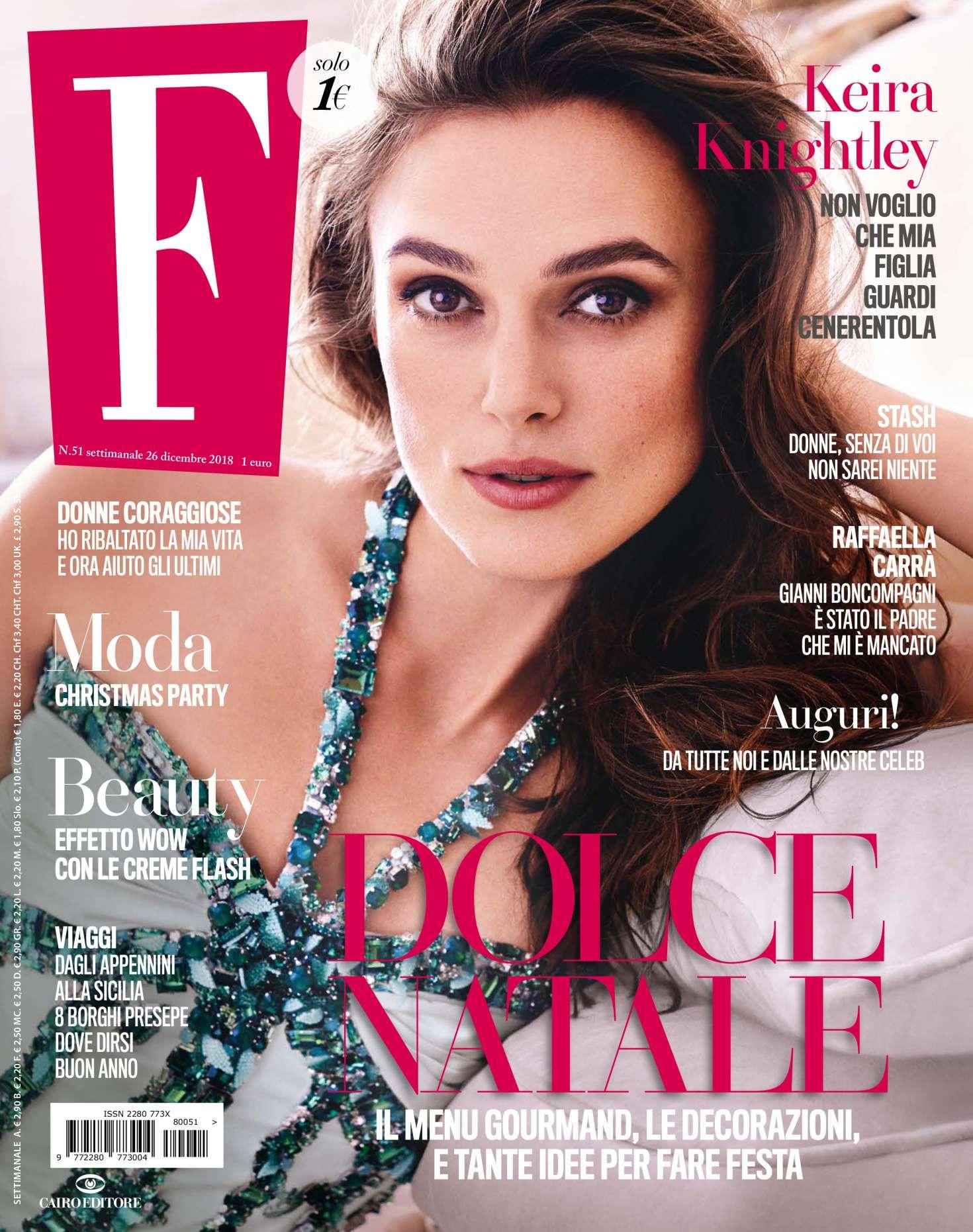 Keira Knightley 2018 : Keira Knightley: F N51 Magazine 2018 -04