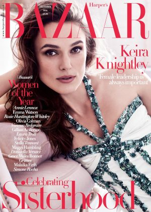 Keira Knightley - Harper's Bazaar UK Magazine (December 2016)