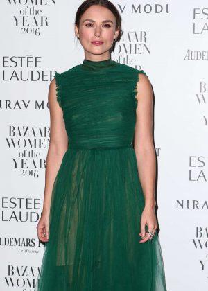 Keira Knightley - Harper's Bazaar Women of the Year Awards in London