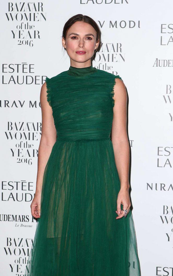 Keira Knightley – Harper's Bazaar Women of the Year Awards in London