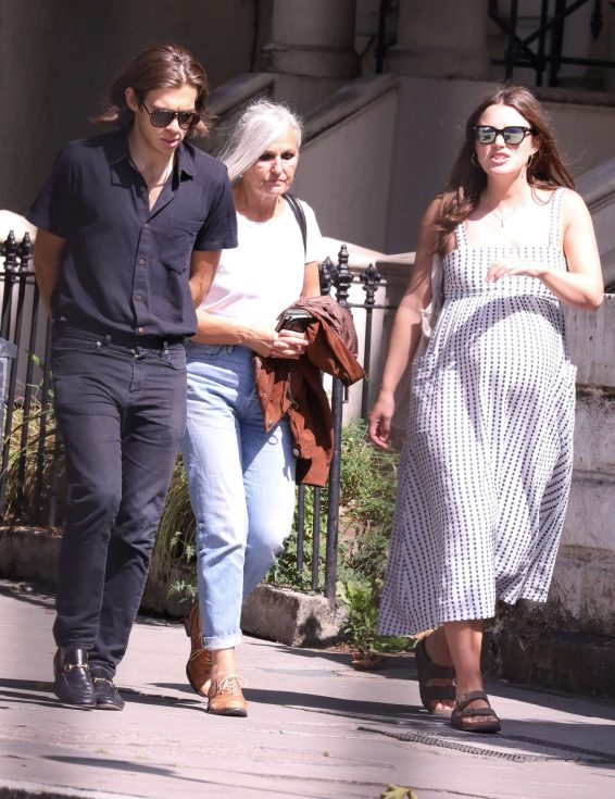 Keira Knightley is seen with husband James Righton in north