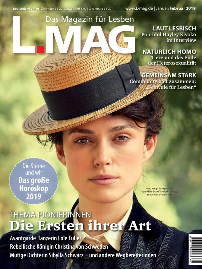 Keira Knightley – L.Mag (January/February 2019)