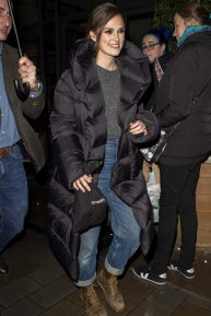 Keira Knightley - Leaving the 'Misbehaviour' Premiere in London