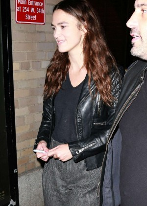 Keira Knightley - Leaving the Opening Night Preview for 'Therese Raquin' in NYC