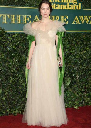 Keira Knightley - London Evening Standard Theatre Awards 2017 in London