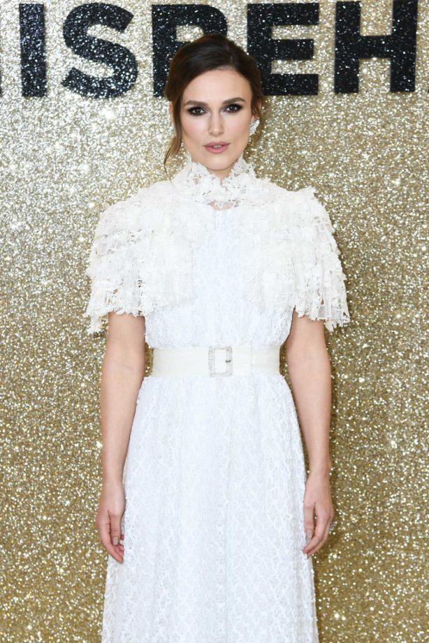 Keira Knightley - 'Misbehaviour' Premiere in London