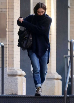 Keira Knightley on Broadway in NYC