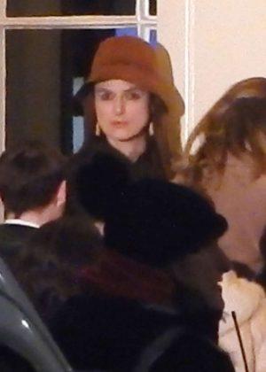 Keira Knightley - On set of 'Misbehaviour' in London