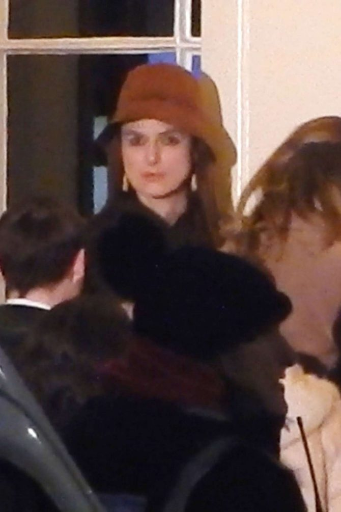 Keira Knightley – On set of 'Misbehaviour' in London