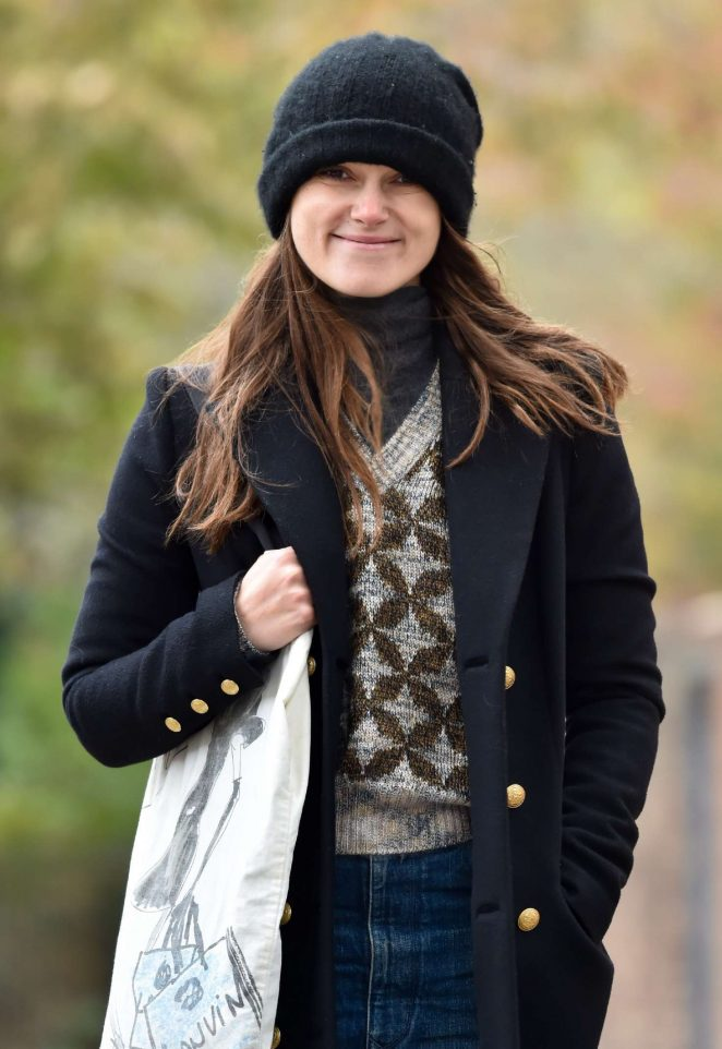 Keira Knightley - Out and about in London