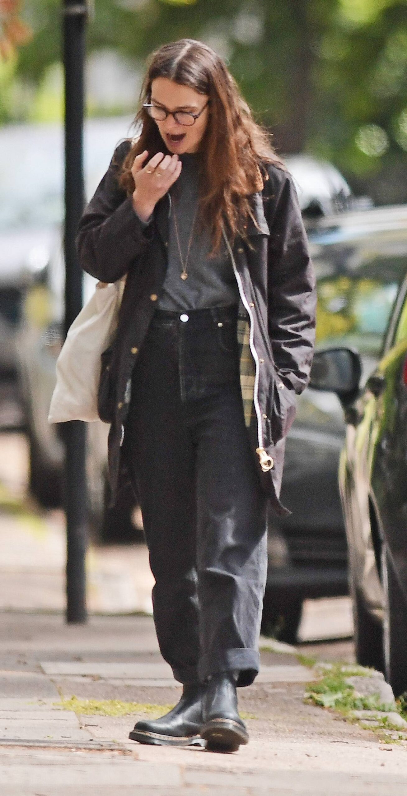 Keira Knightley 2021 : Keira Knightley – out in Bromley-03