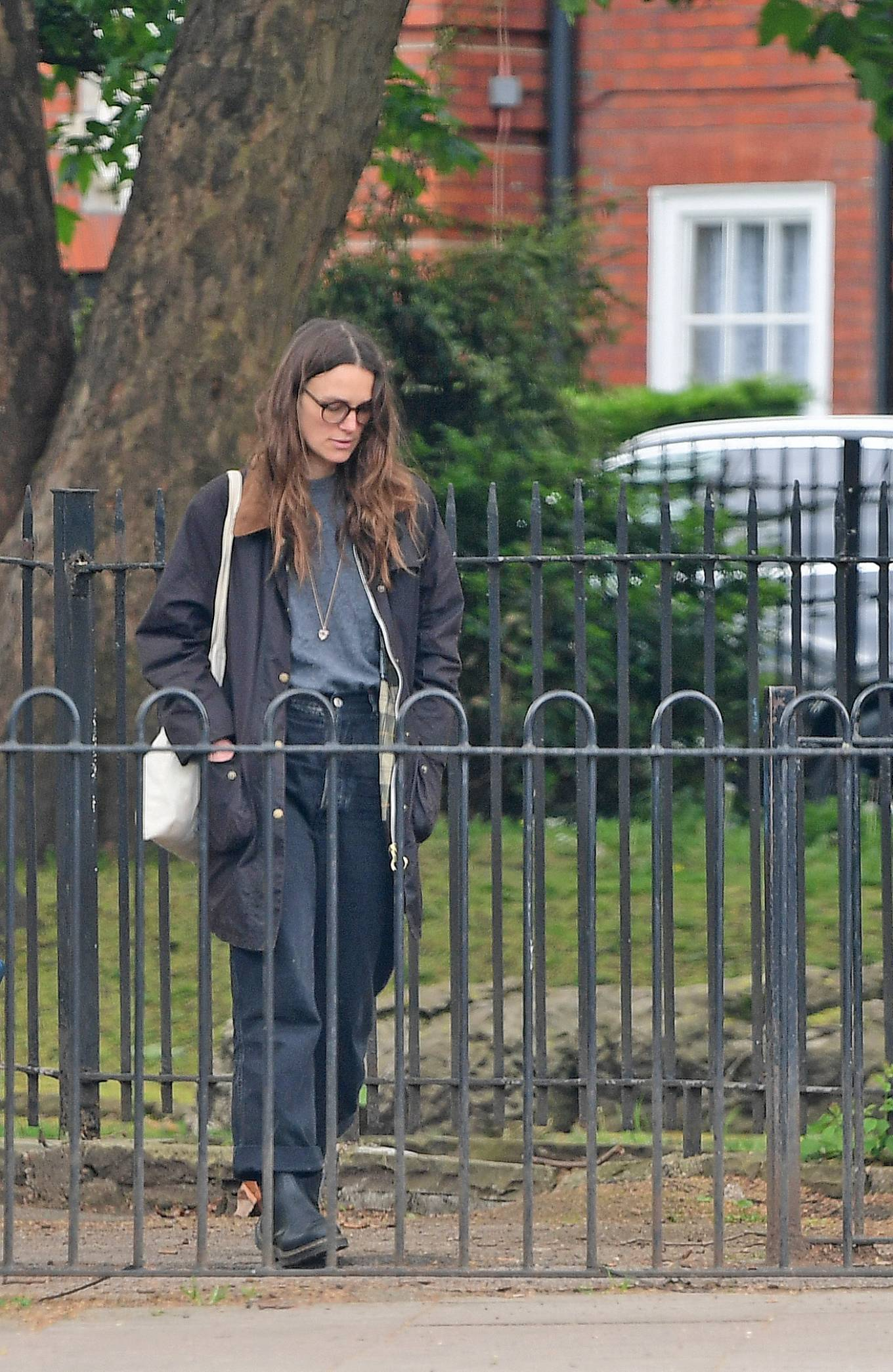 Keira Knightley 2021 : Keira Knightley – out in Bromley-11