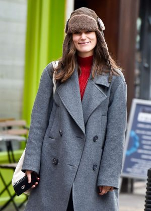 Keira Knightley - Out in East London