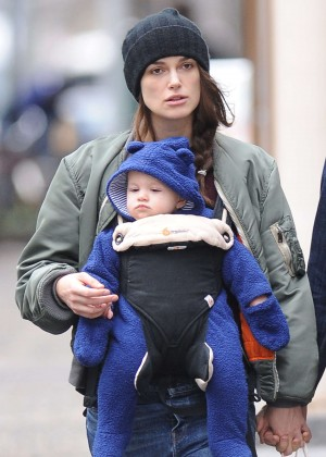 Keira Knightley out in NY