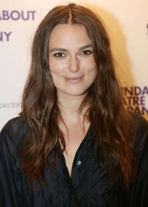 Keira Knightley - Roundabout 50th Anniversary in NYC