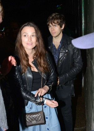 Keira Knightley - The Blur Concert at Hyde Park in London