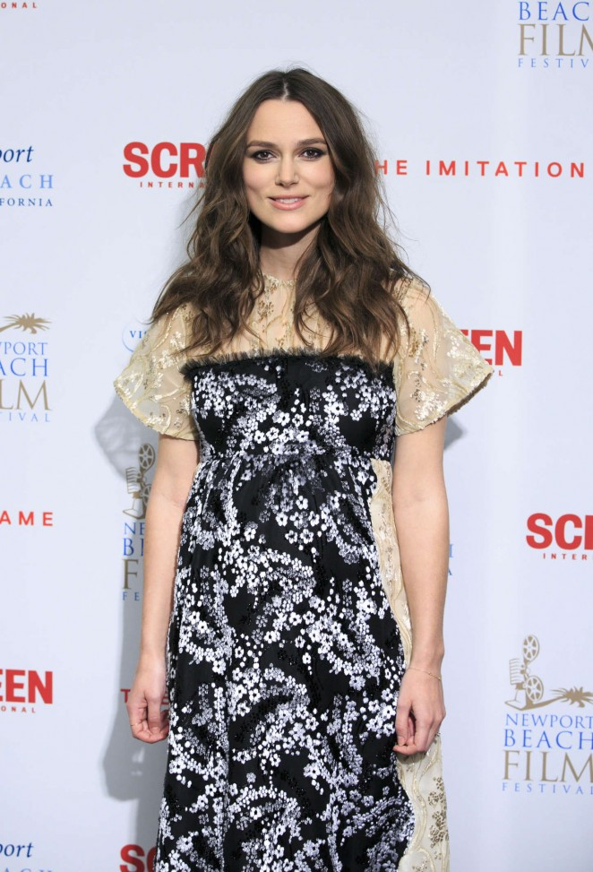 "Keira Knightley - ""The Imitation Game"" Private Reception in London"