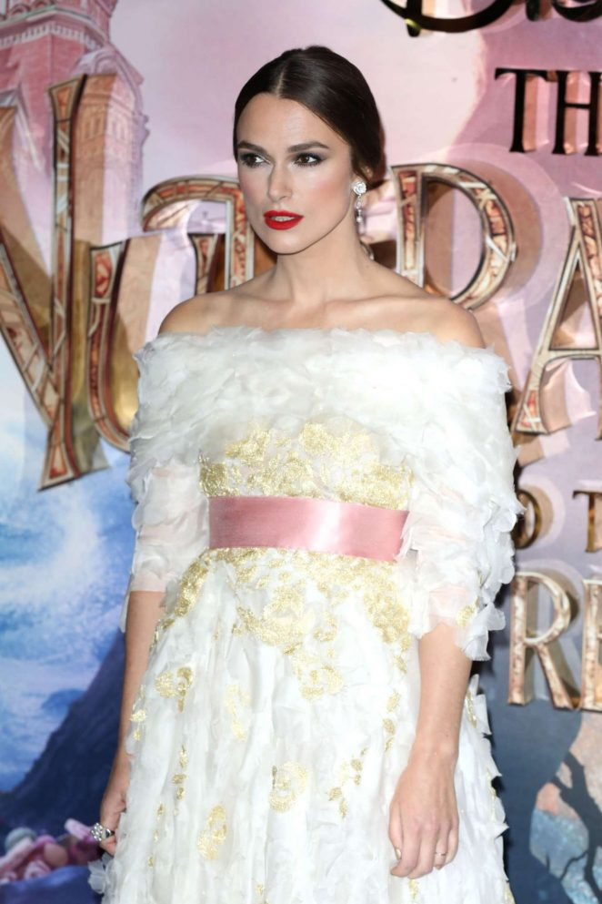 Keira Knightley - 'The Nutcracker and the Four Realms' Premiere in London