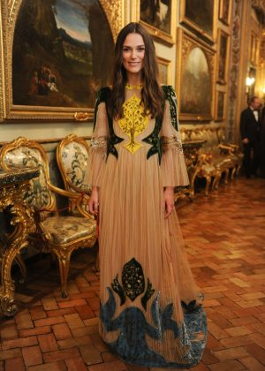 Keira Knightley - Valentino's Cocktail Party in Rome