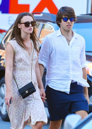 Keira Knightley With James Righton Out in NYC
