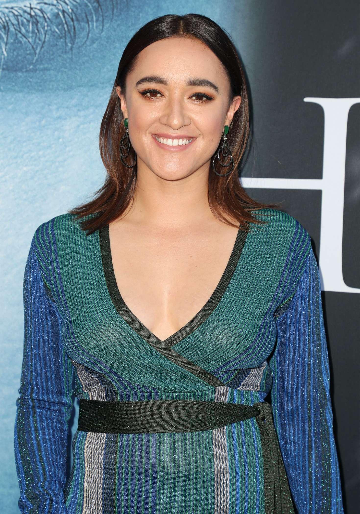 Keisha Castle-Hughes – 'Game Of Thrones' Season 7 Premiere ...  Keisha Castle-H...