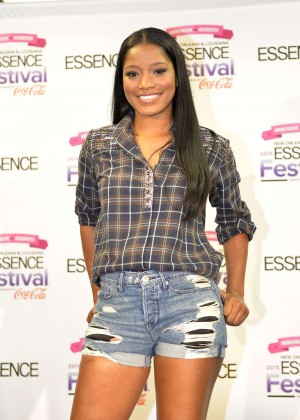 Keke Palmer - 2015 Essence Festival in New Orleans