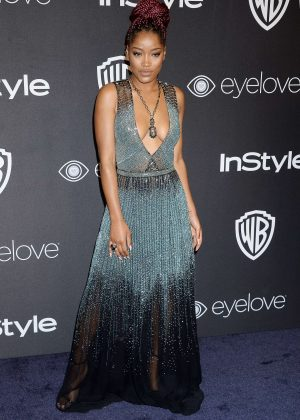 Keke Palmer - 2017 InStyle and Warner Bros Golden Globes After Party in LA